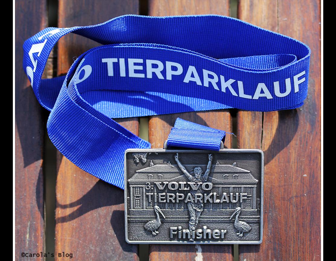 Medaille Tierparklauf 2014